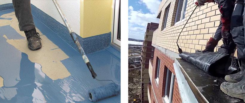 Гидроизоляция и герметизация балкона