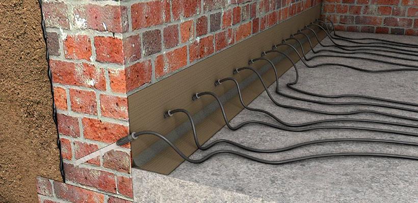 Проникающие и инъекционные составы для гидроизоляции стен
