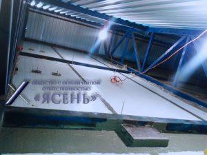 Замена гидроизоляции по межпанельным стыкам оцинкованного металла