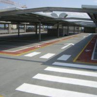 Гидроизоляция крыши автопарковки