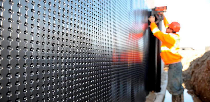 Мембранные материалы для гидроизоляции стен